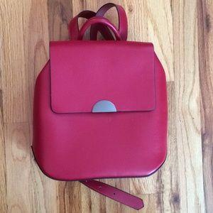 Red Zara Mini Backpack  🎒🎒🎒